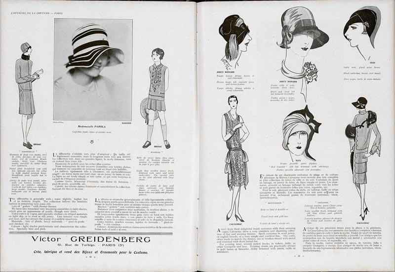 l officiel de la mode les archives de la mode depuis 1920 publication 2 design et typo. Black Bedroom Furniture Sets. Home Design Ideas
