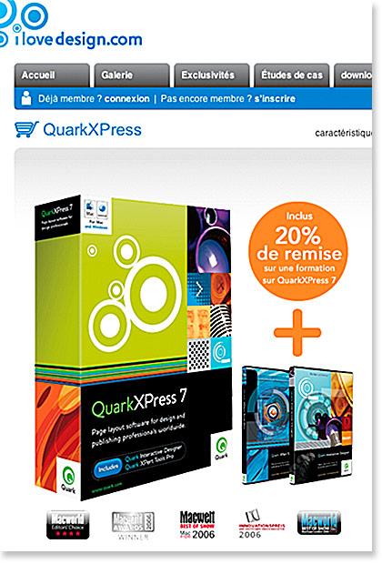 Quarkxpress Ilove Design Une Offre Sur La Formation